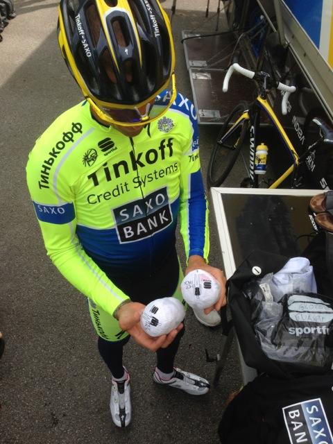 Sportful Stories Inside The Tinkoff Saxo Rain Bag