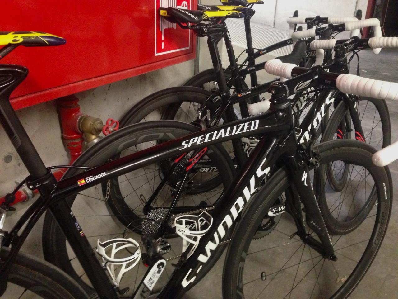 Contador's bike