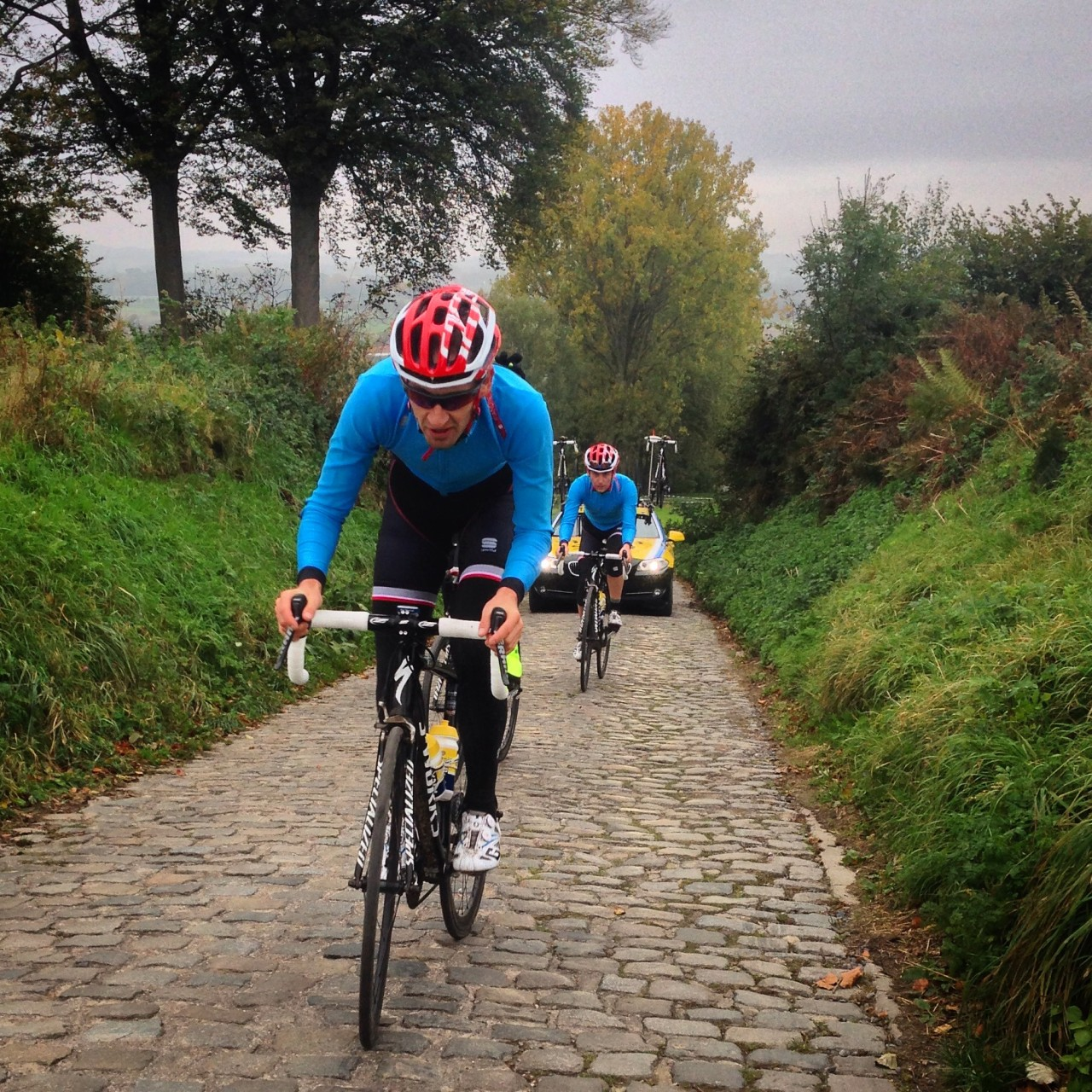 One last hill... the mighty Koppenberg
