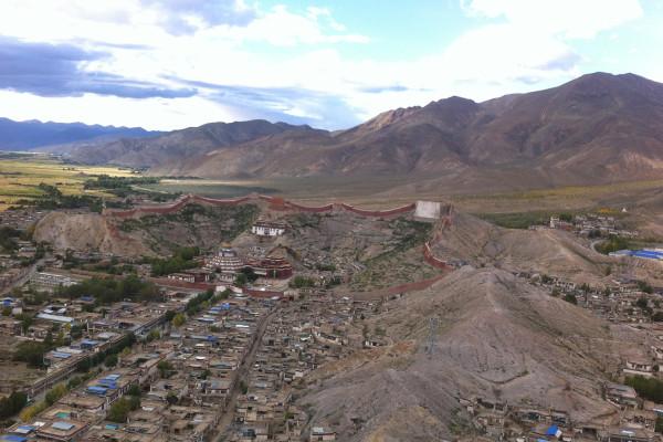 Il complesso monastico di Gyantse