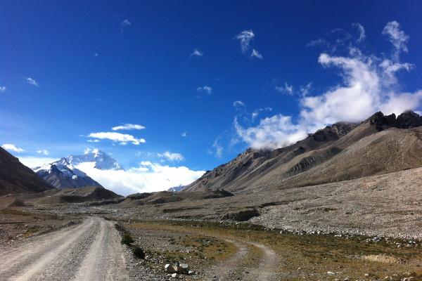 Sulla strada...verso l'Everest!