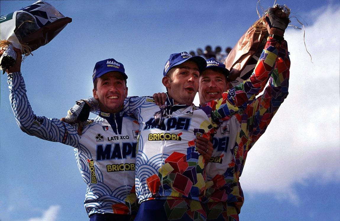 Tafi, Ballerini & Peeters - Roubaix 98