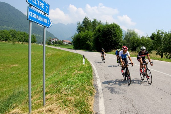 Back towards Feltre
