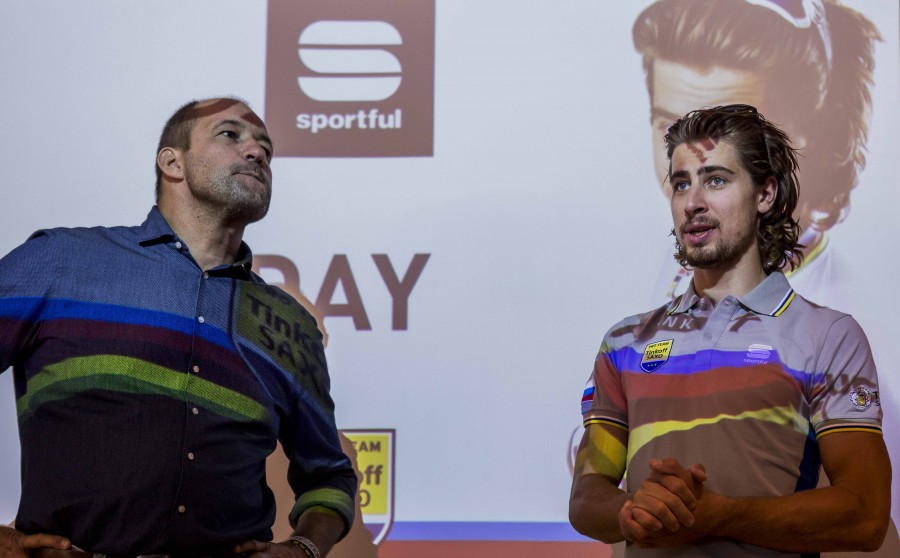 Sportful Director Dario Cremonese introduces Peter Sagan