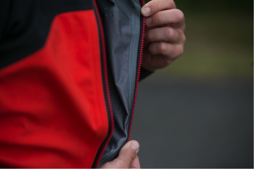 The advent of the fully taped seam sealed Wind Stopper LRR fabric is something of a game changer – highly breathable, able to fend off the elements, with enhanced wet weather protection.