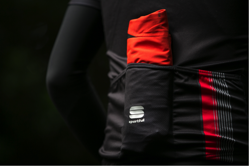 Given the level of protection offered – the jacket is remarkably packable, low in volume and easy to fold up / stash in a jersey pocket - when and if the temperature / conditions dictate. Overheating is not an issue.