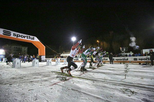 Partenza semifinale femminile - Campionati Italiani Assoluti Sprint Pra' del Moro