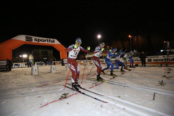 Partenza finale maschile - Campionati Italiani Assoluti Sprint Pra' del Moro