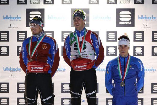 Podio maschile - Campionati Italiani Assoluti Sprint Pra' del Moro