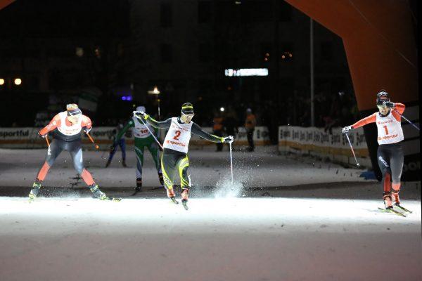 Arrivo gara finale femminile - Campionati Italiani Assoluti Sprint Pra' del Moro