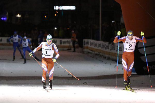 Arrivo finale maschile - Campionati Italiani Assoluti Sprint Pra' del Moro